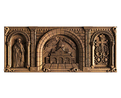 Panel Echmiadzin, 3d models (stl)