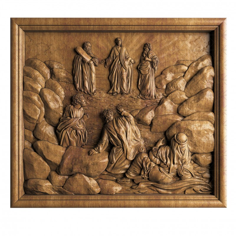 Panel Transfiguration of the Lord, 3d models (stl)