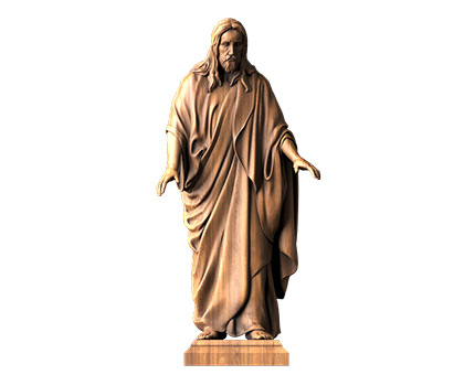 Sculpture Jesus Christ, 3d models (stl)