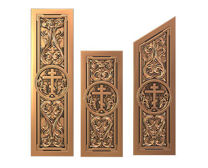Church panels, 3d models (stl)