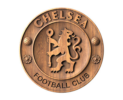 Coat of Arms of Football Club Chelsea - 3d (stl) model, 3d models (stl)
