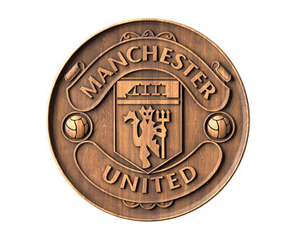 Symbol of Manchester United -3d (stl) model, 3d models (stl)