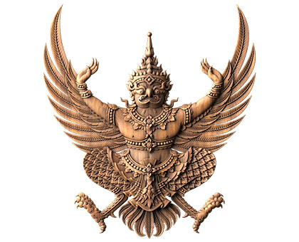 Garuda - Coat of Arms of Thailand, 3d models (stl)