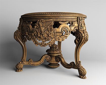 Table, 3d models (stl)