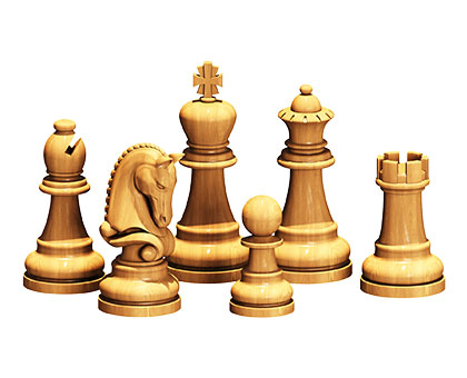 Staunton chess set - 3d (stl) models, 3d models (stl)