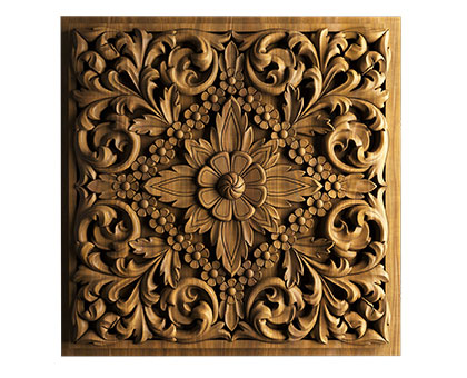 Carved panel, 3d models (stl)