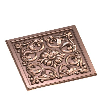 Patterned panel, 3d models (stl)