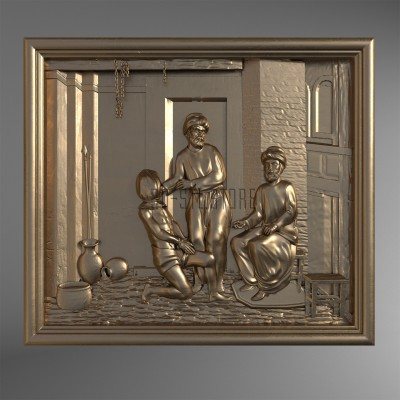 Martyrdom of St. George, 3d models (stl)