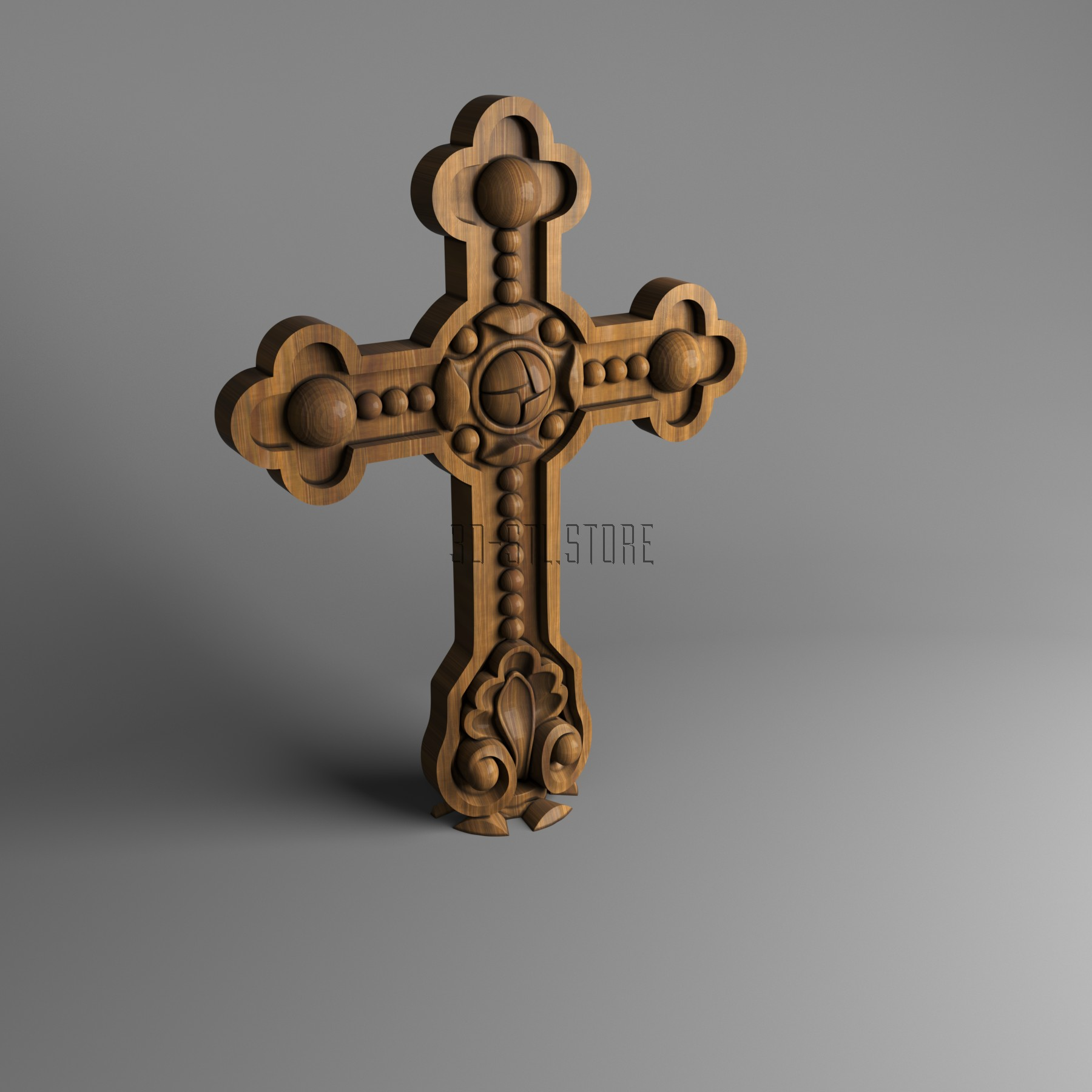 Cross, 3d models (stl)