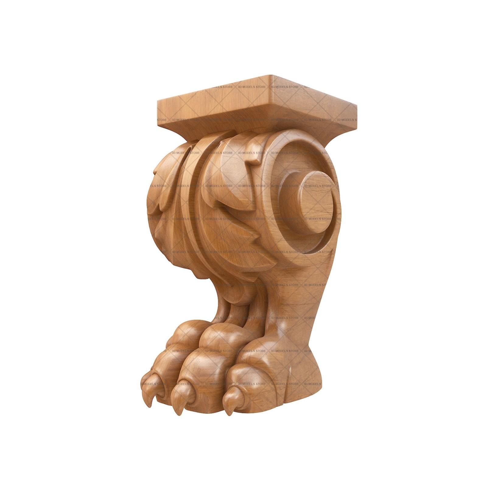 Furniture Legs, 3d Models (stl)